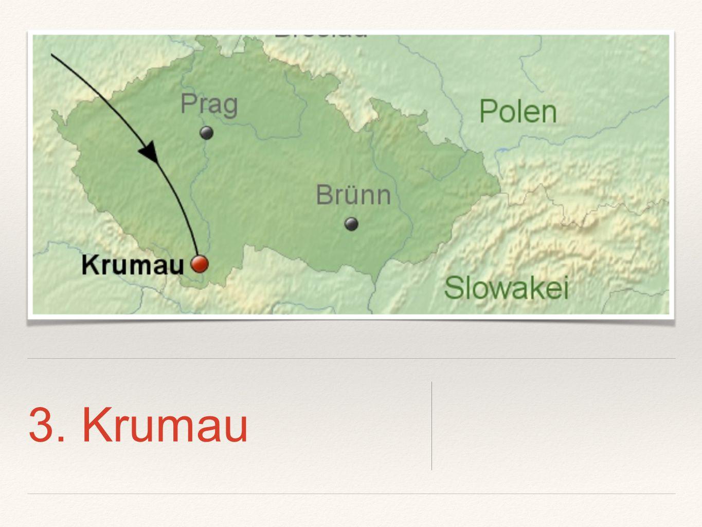 3.Tag in Krumau - Was machen wir.