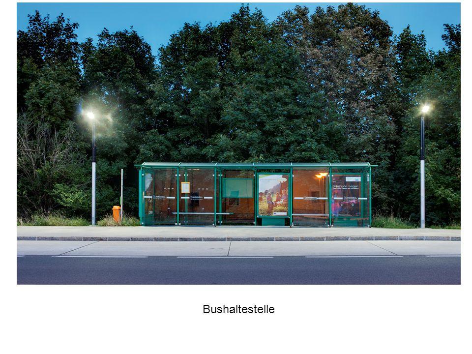 Bus stop, City of Vösendorf Bushaltestelle