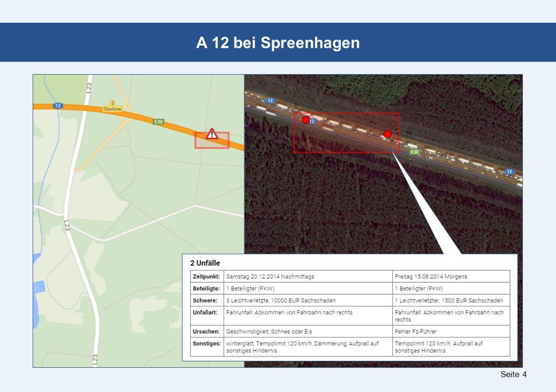 Seite 4 A 12 bei Spreenhagen