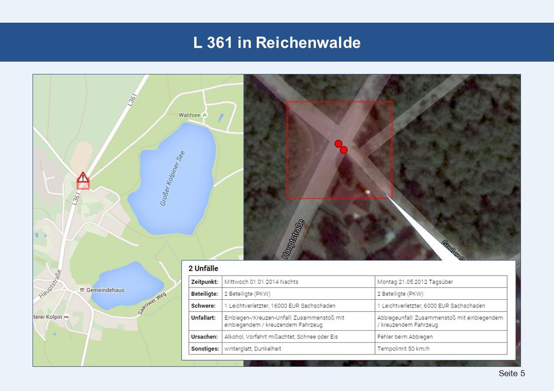 Seite 5 L 361 in Reichenwalde