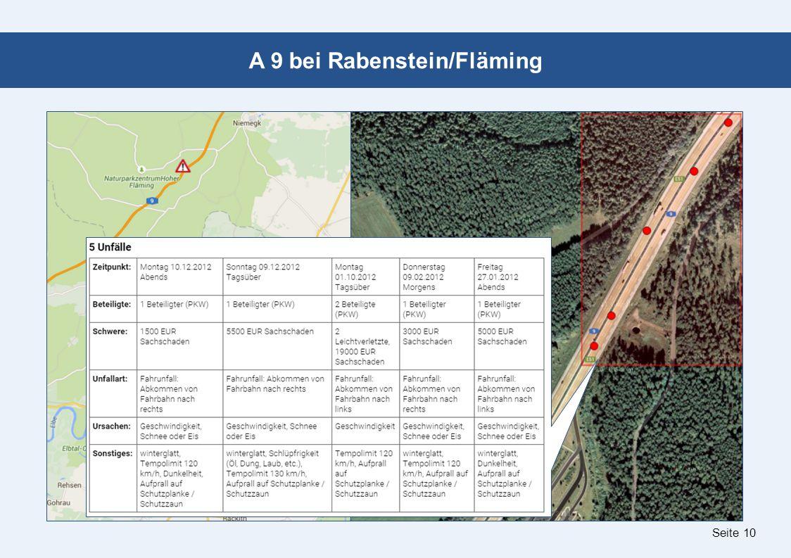 Seite 10 A 9 bei Rabenstein/Fläming