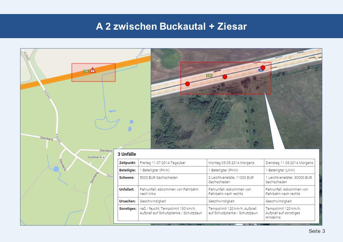 Seite 3 A 2 zwischen Buckautal + Ziesar