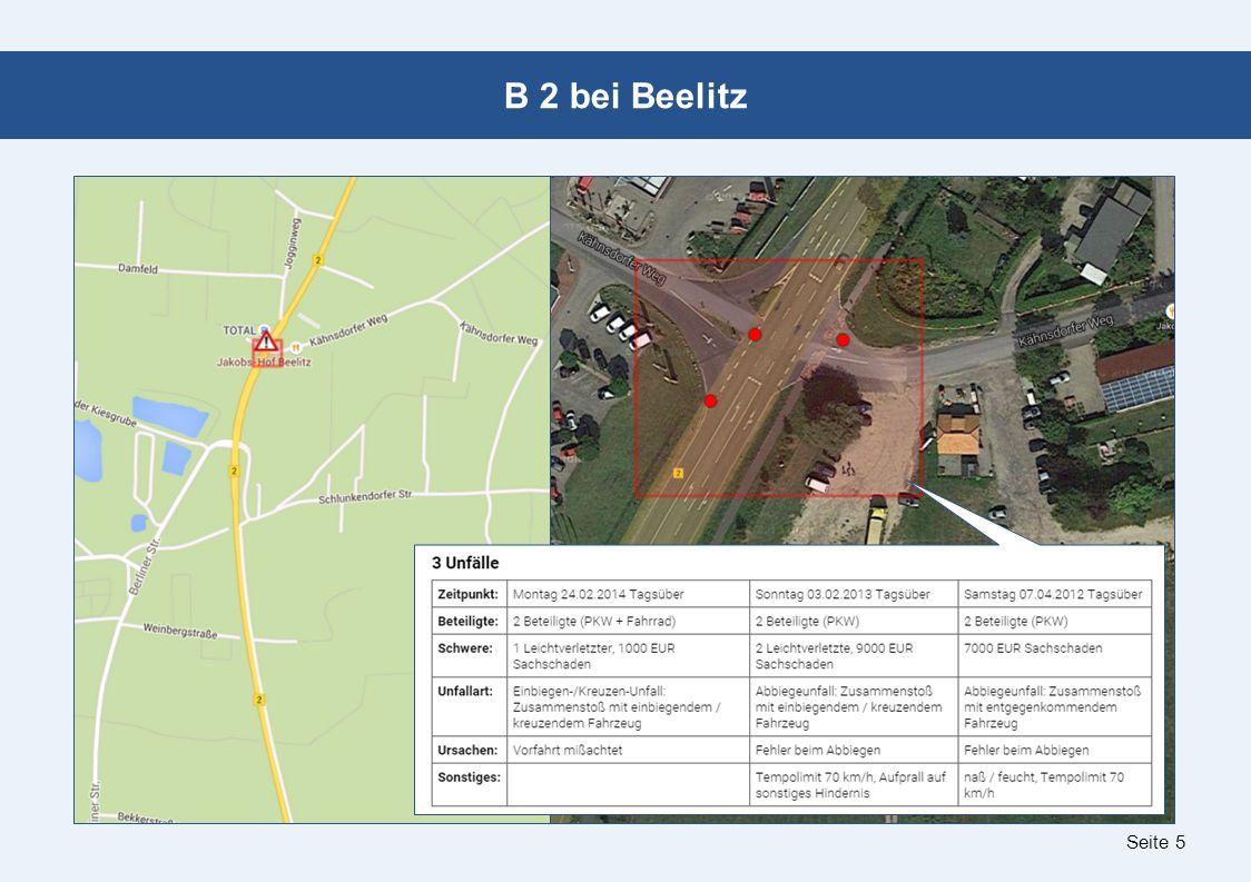 Seite 5 B 2 bei Beelitz