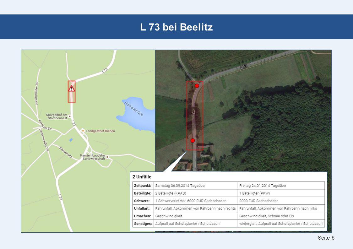 Seite 6 L 73 bei Beelitz