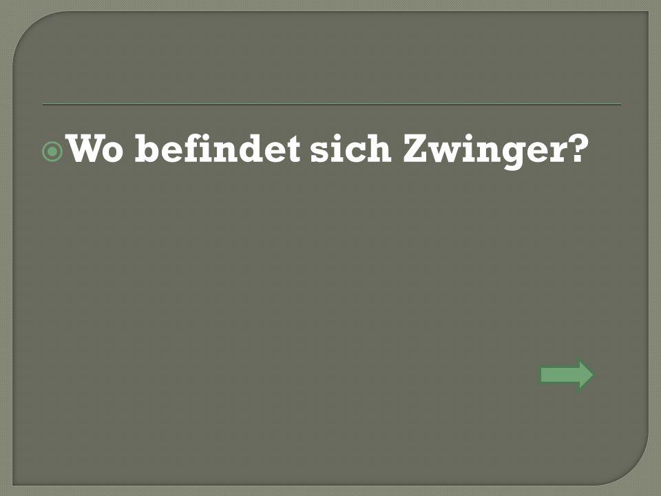  Wo befindet sich Zwinger