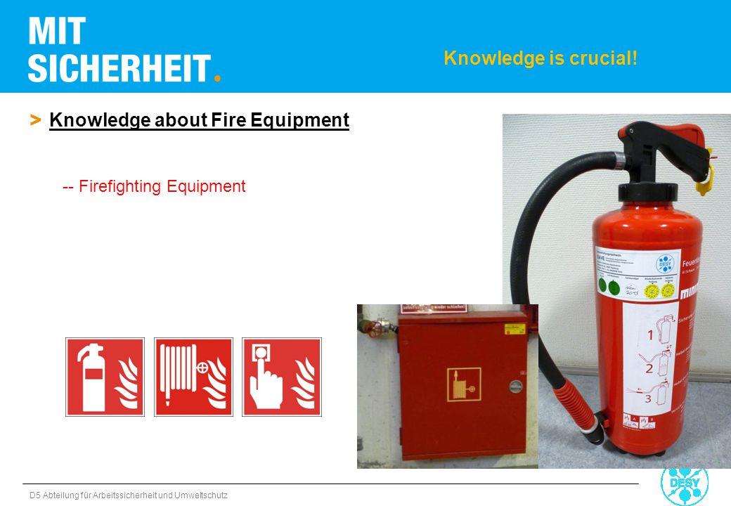 D5 Abteilung für Arbeitssicherheit und Umweltschutz > Knowledge about Fire Equipment -- Firefighting Equipment Knowledge is crucial!