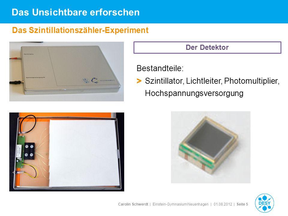 Carolin Schwerdt | Einstein-Gymnasium Neuenhagen | 01.08.2012 | Seite 16 Ergebnis Schülerarbeit