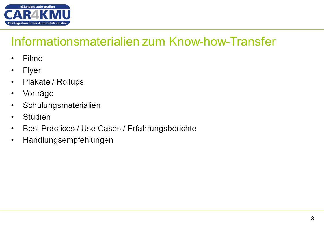 Publikation des Transferkonzepts Das Transferkonzept (inkl.