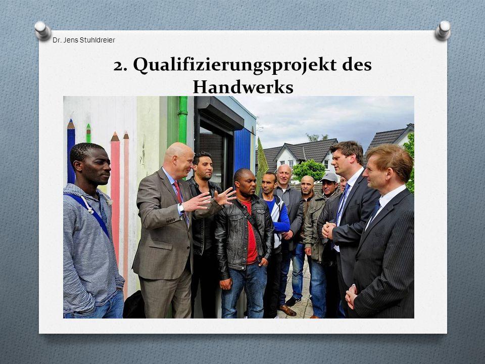 2. Qualifizierungsprojekt des Handwerks Dr. Jens Stuhldreier