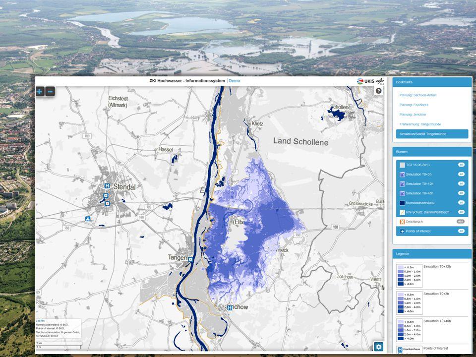 Flut in Deutschland, 05. Juni 2013, Quelle: DLR Befliegung