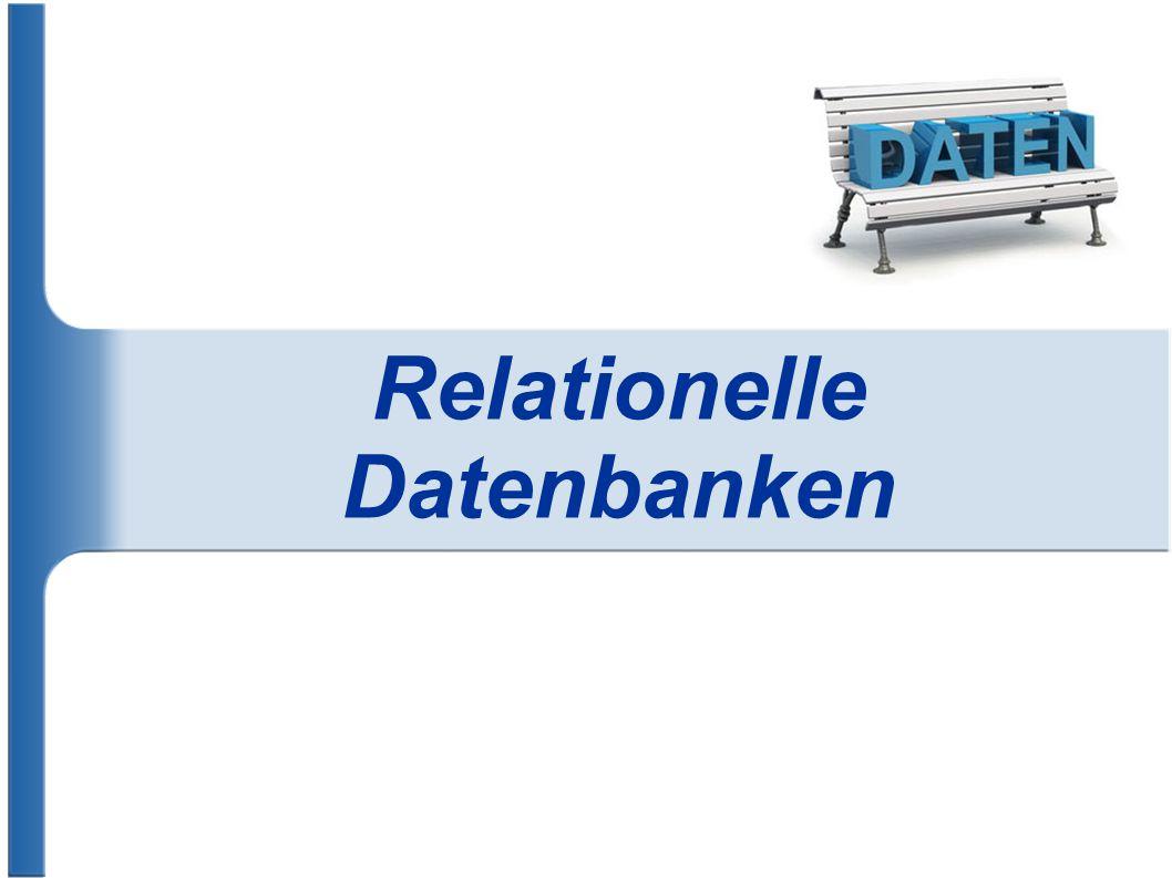 Relationelle Datenbanken