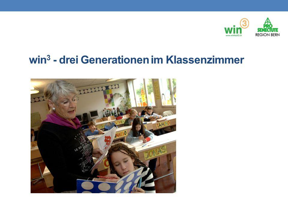 win 3 - drei Generationen im Klassenzimmer