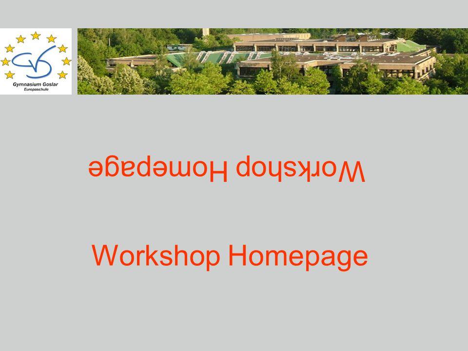 Workshop Homepage