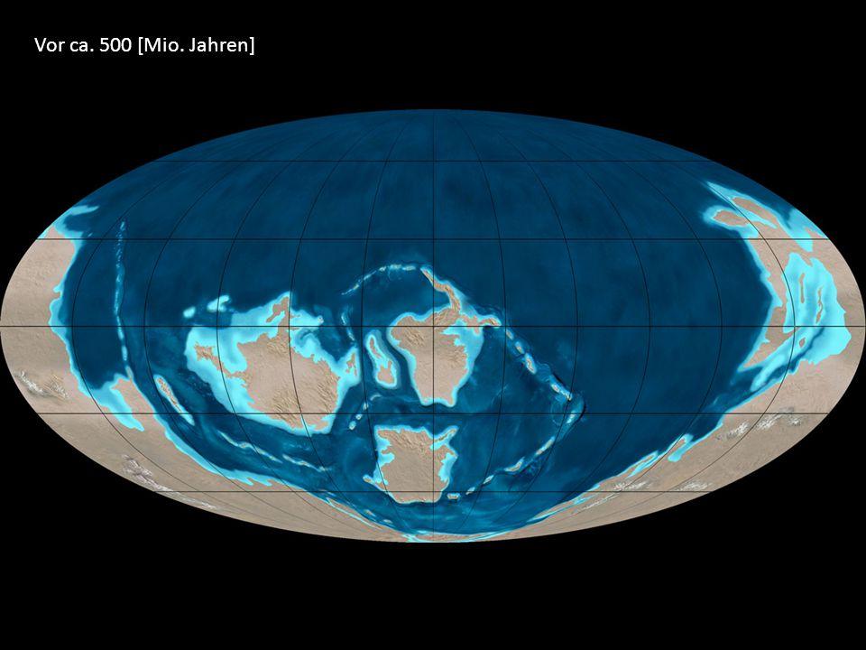 Vor ca. 500 [Mio. Jahren]