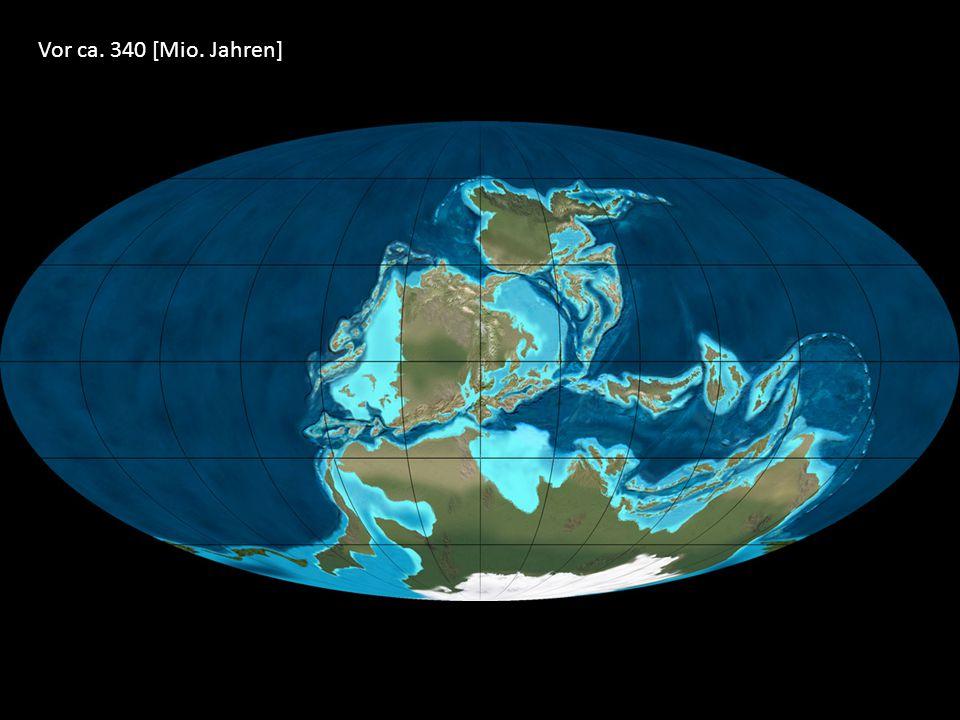 Vor ca. 340 [Mio. Jahren]