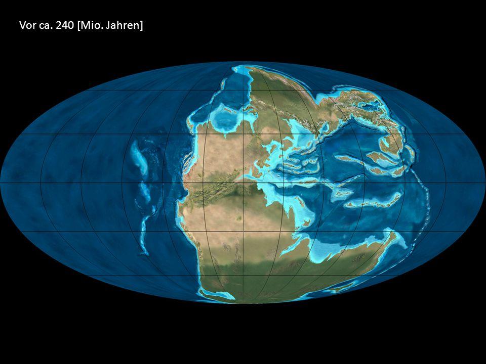 Vor ca. 240 [Mio. Jahren]