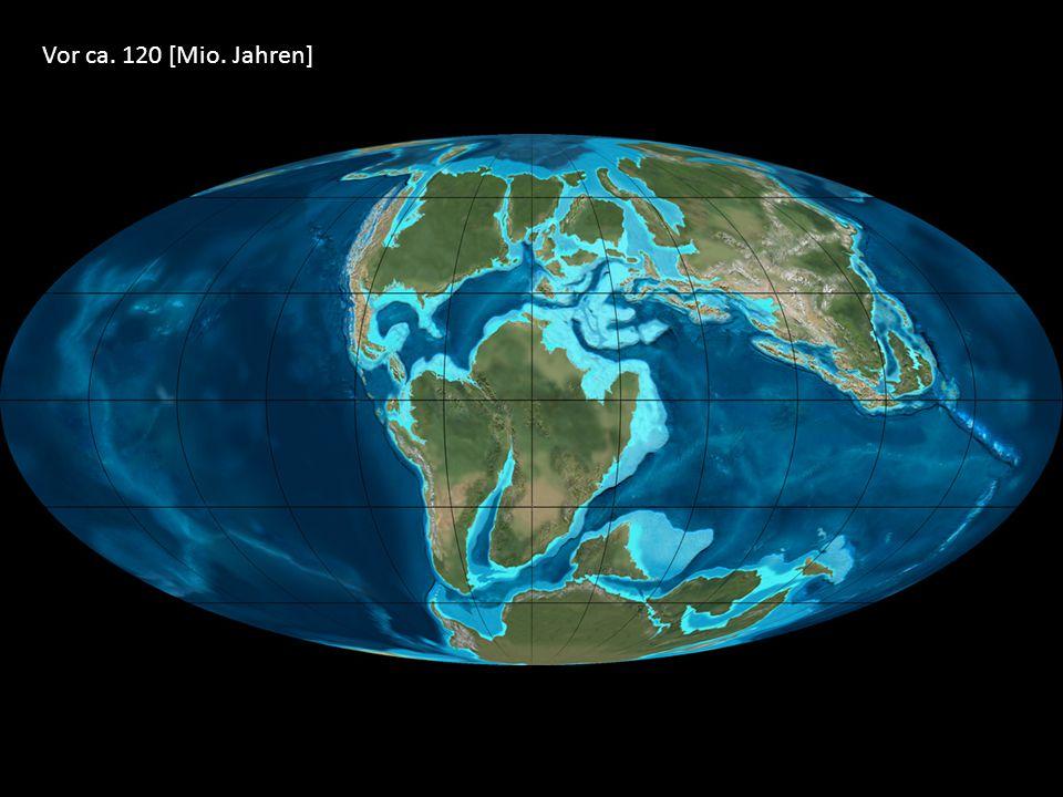 Vor ca. 120 [Mio. Jahren]