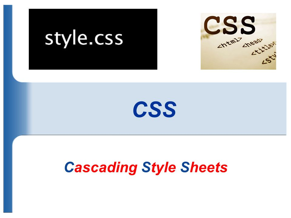 Was ist CSS.