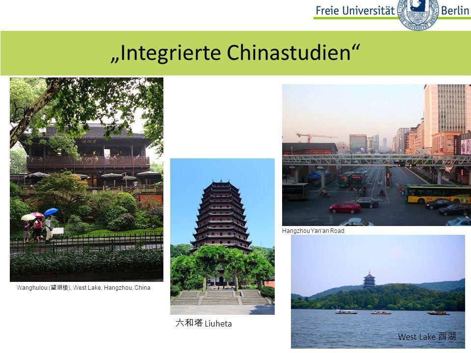 """Fragen? 19 """"Integrierte Chinastudien"""