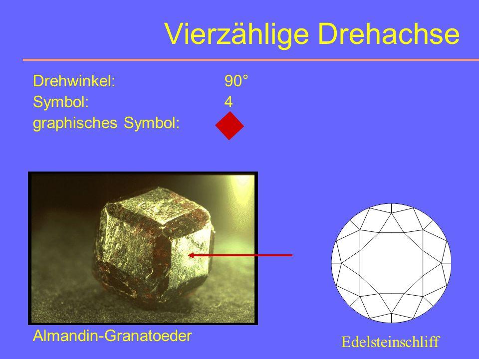 Dreizählige Drehachsen Orientierungsmöglichkeiten: 0-10 M (3 1 c ) = 1-10 0 01