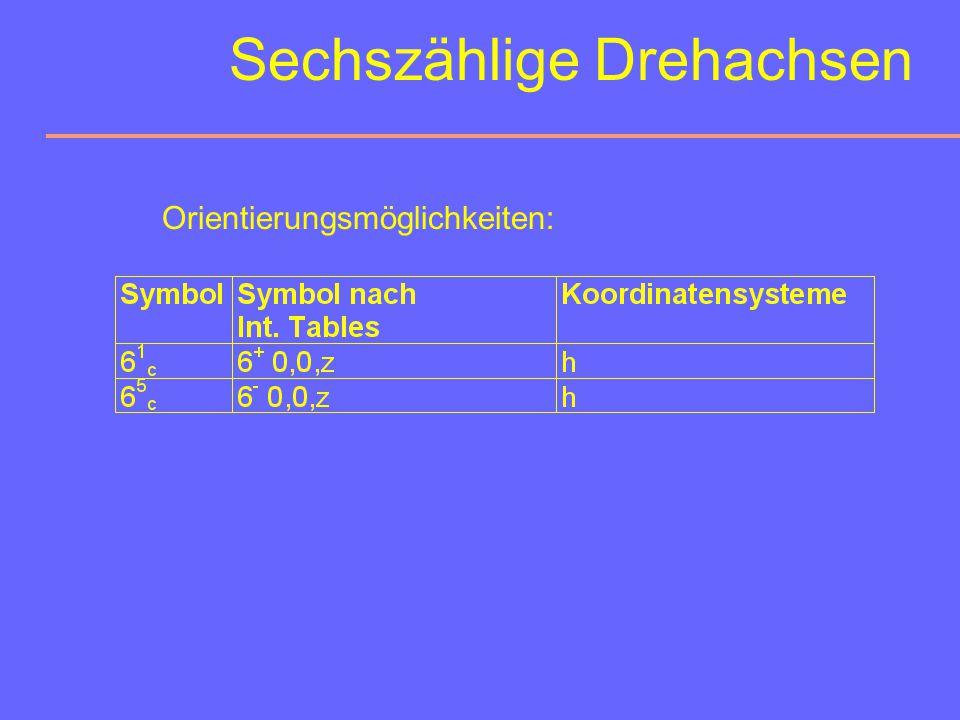 Sechszählige Drehachse Drehwinkel:60° Symbol:6 graphisches Symbol: Edelsteinschliff