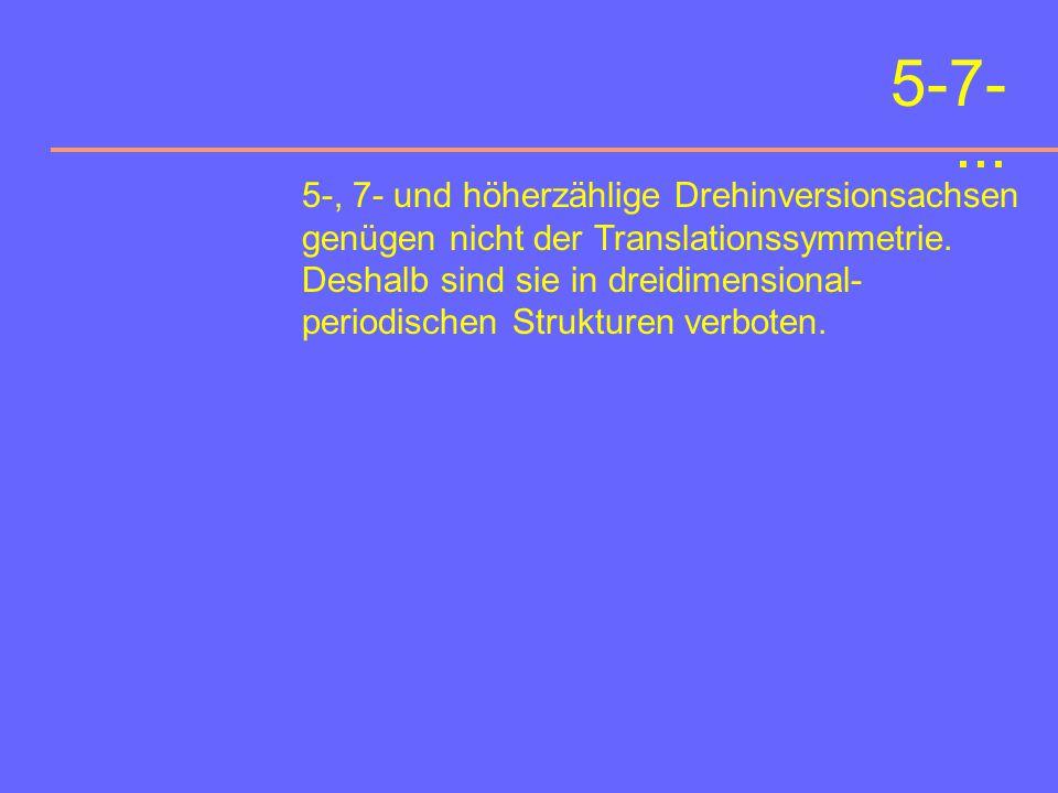 Sechszählige Drehinversionsachse Drehwinkel:60° Symbol:6 graphisches Symbol: ¯ Stereogramm einer trigonalen Dipyramide
