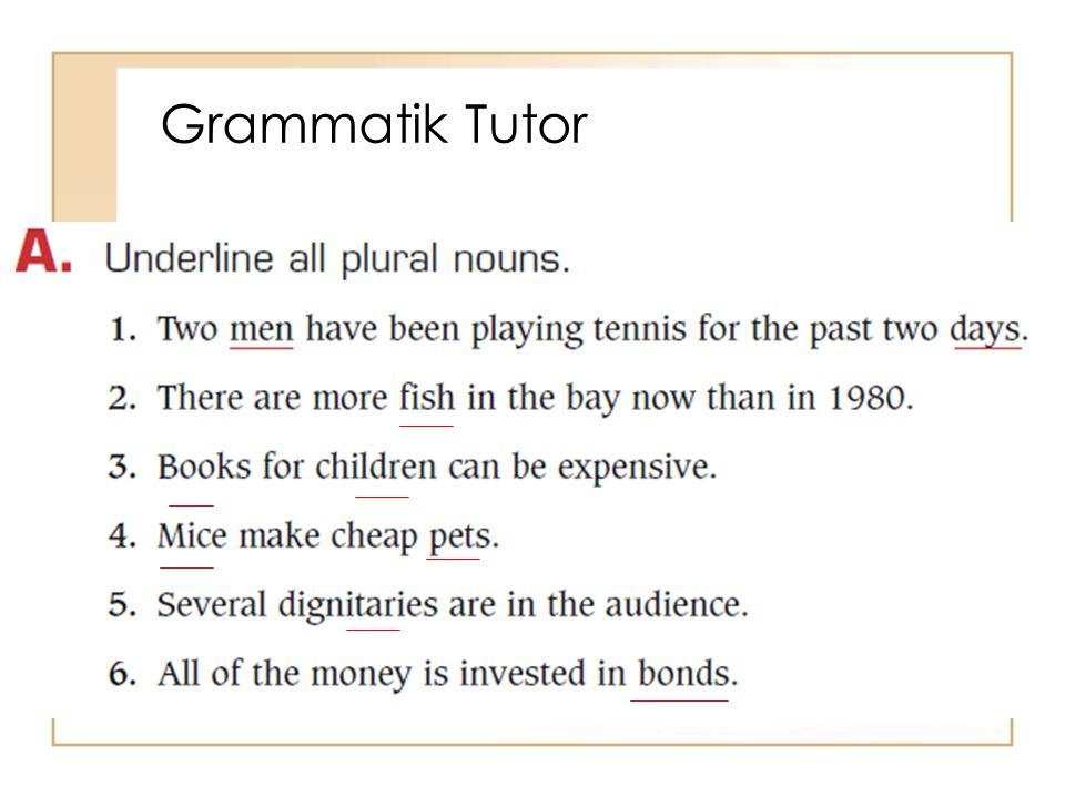 Grammatik Tutor