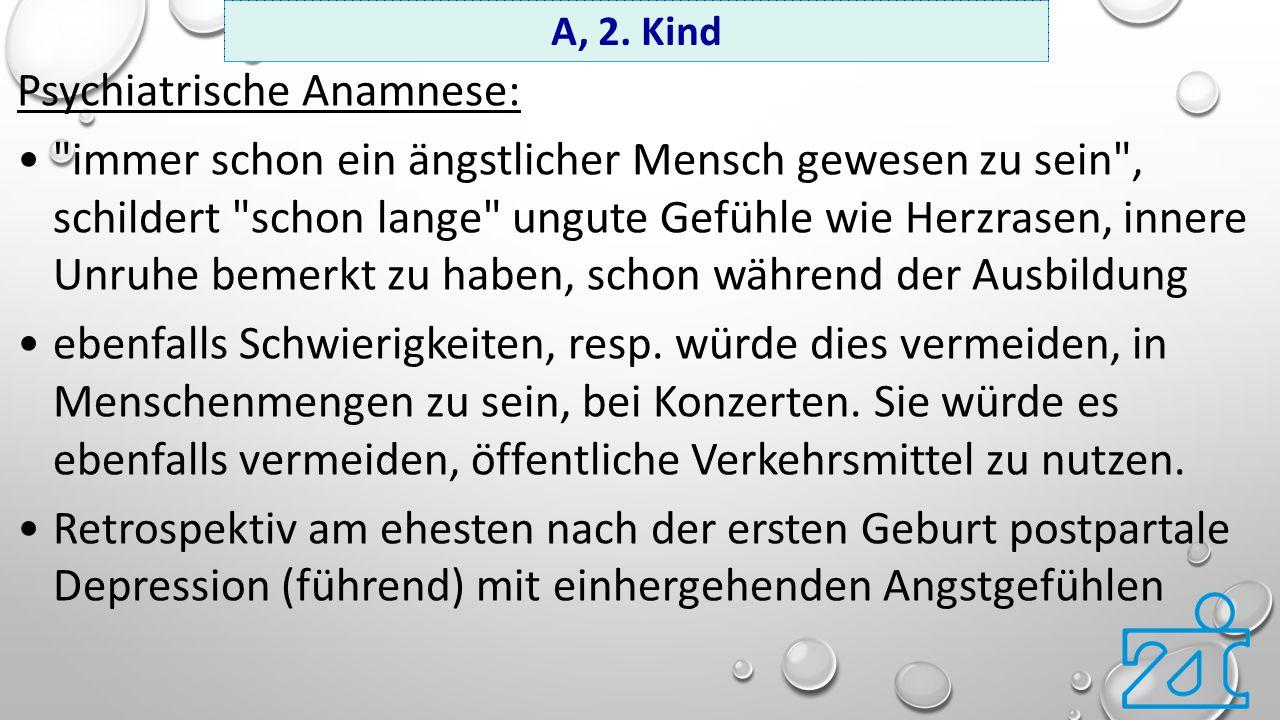 Psychiatrische Anamnese: