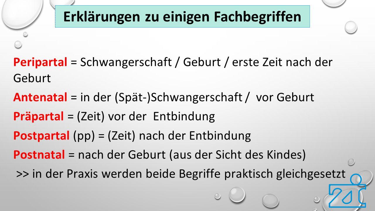 25 http://www.embryotox.de Medikamente in Schwangerschaft und Stillzeit http://www.frauen-und-psychiatrie.de Informationen zu allen psychischen Störungen rund um Schwangerschaft, Geburt und Kinderwunsch http://www.initiative-regenbogen.de Selbsthilfe-Organisation zu Fehl-, Früh- oder Totgeburten http://www.kaiserschnitt-netzwerk.de Hilfe für Mütter nach traumatischem Kaiserschnitt www.marce-gesellschaft.de Marcé-Gesellschaft zu peripartalen psychischen Erkrankungen www.schatten-und-licht.de Selbsthilfe-Organisation zu peripartalen psychischen Erkrankungen Hilfreiche Internetadressen