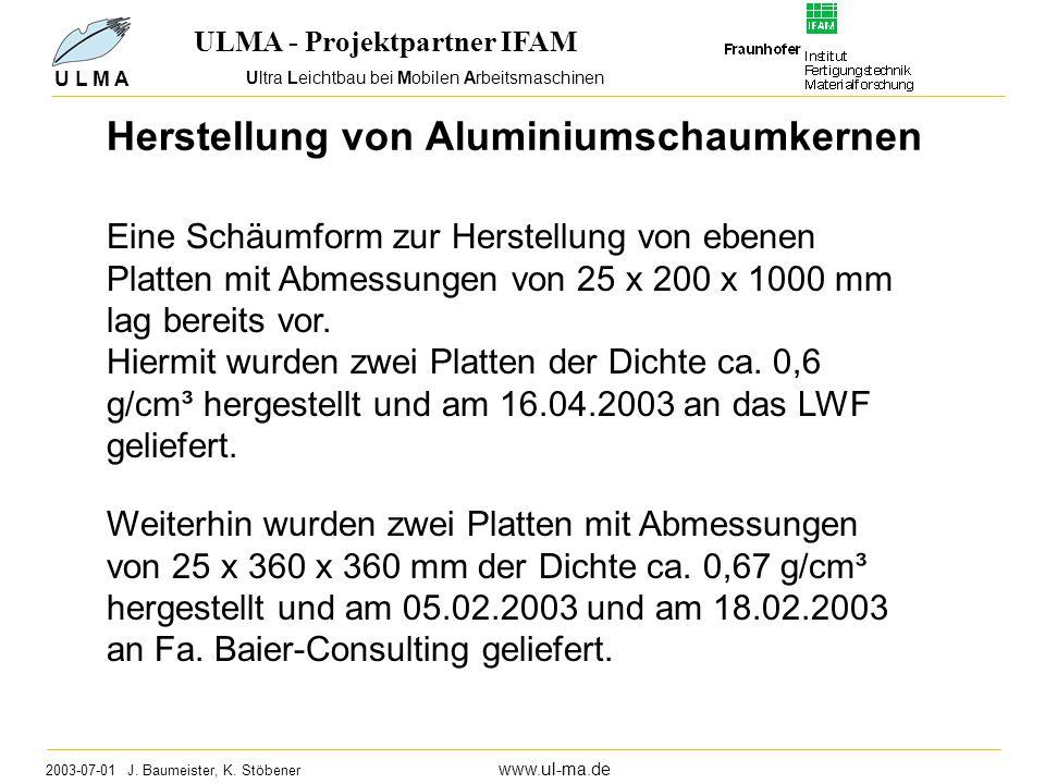 Ultra Leichtbau bei Mobilen Arbeitsmaschinen 2003-07-01 J.