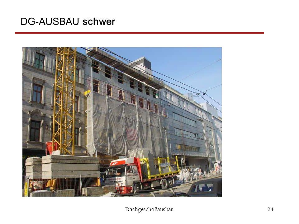 Dachgeschoßausbau24 DG-AUSBAU schwer