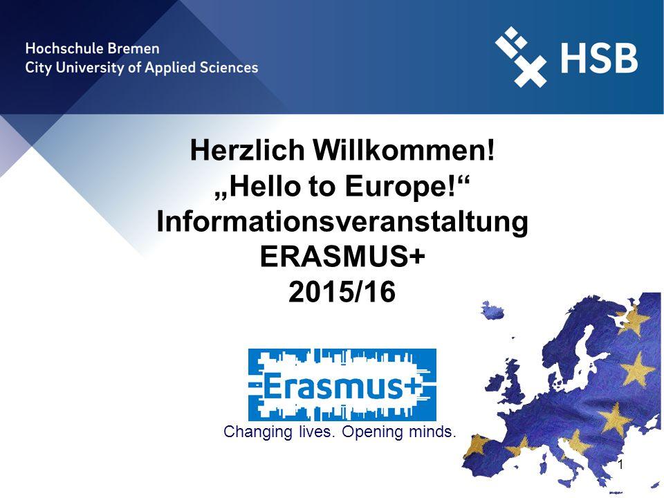 "International Office - Ilka Knippel ©HSB 12 ""Hello to Europe! - Informationsveranstaltung 7."