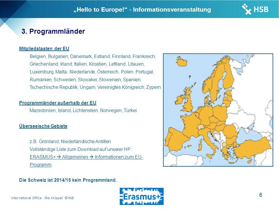 "International Office - Ilka Knippel ©HSB 7 ""Hello to Europe! - Informationsveranstaltung 4."