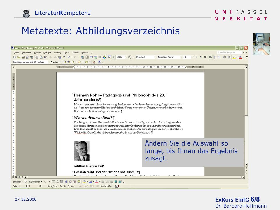 ExKurs EinfG 6/8 Dr.
