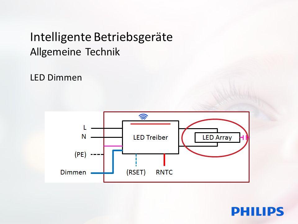 Intelligente Betriebsgeräte Allgemeine Technik LED Dimmen