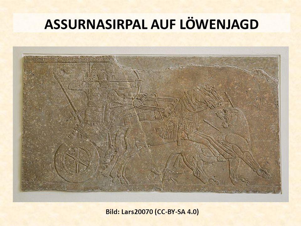 ASSURNASIRPAL AUF LÖWENJAGD Bild: Lars20070 (CC-BY-SA 4.0)