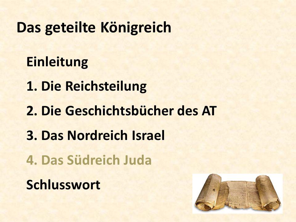 Das geteilte Königreich Einleitung 1.Die Reichsteilung 2.