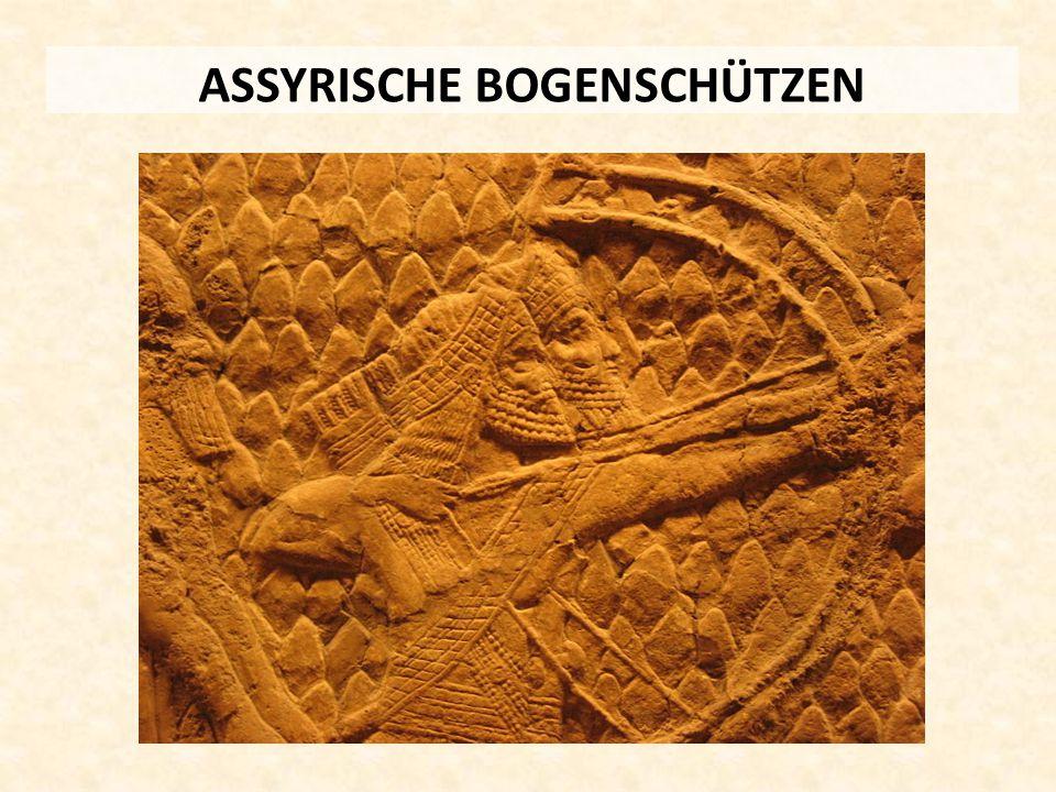 ASSYRISCHE BOGENSCHÜTZEN