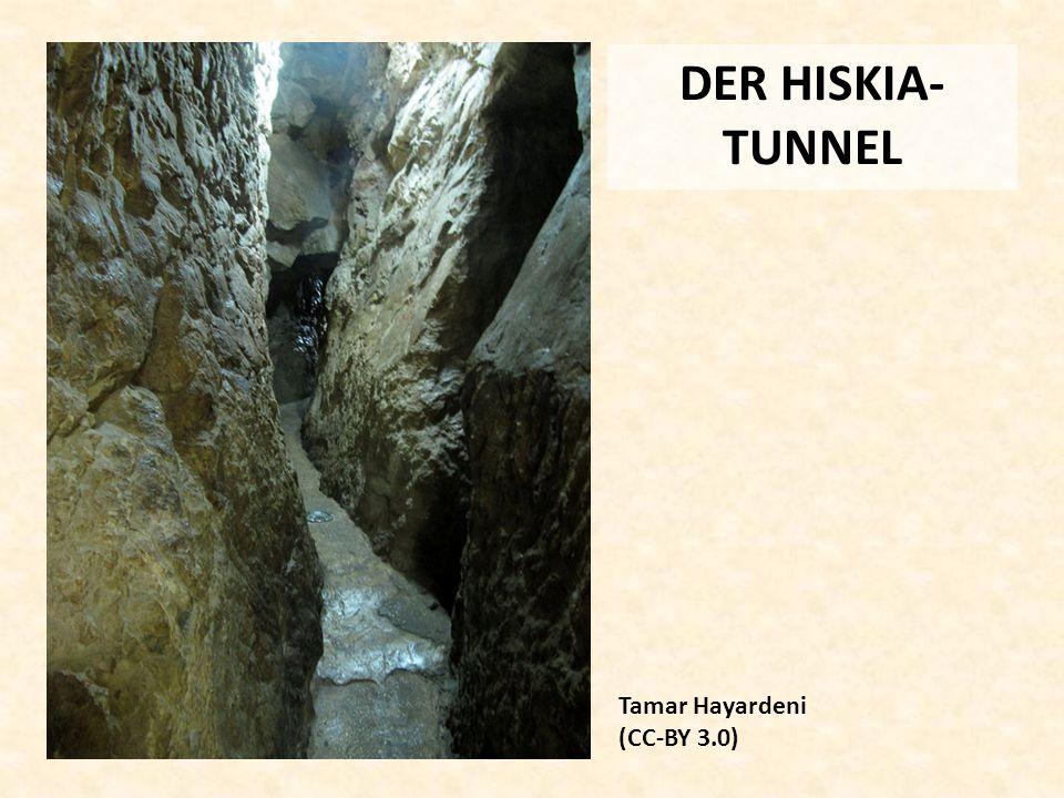 DER HISKIA- TUNNEL Tamar Hayardeni (CC-BY 3.0)