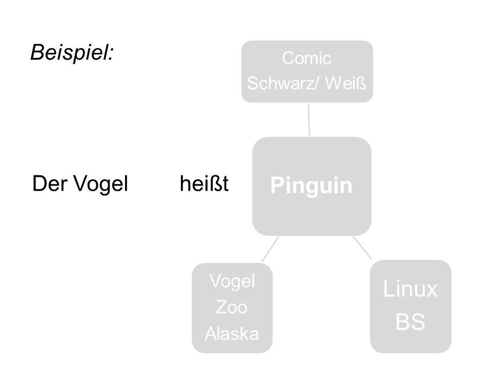 Pinguin Comic Schwarz/ Weiß Linux BS Vogel Zoo Alaska Beispiel: Der Vogelheißt