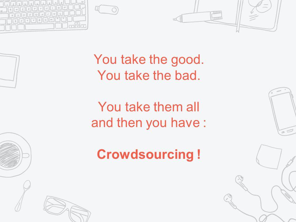 Crowdsourcing nützt den Internet-Benutzern aus ✖ Der zahlreichen zu gewinnenden Preise ✖ Persönliche Erfüllung ✖ Lustig ✖ Wecke im Kampfgeist