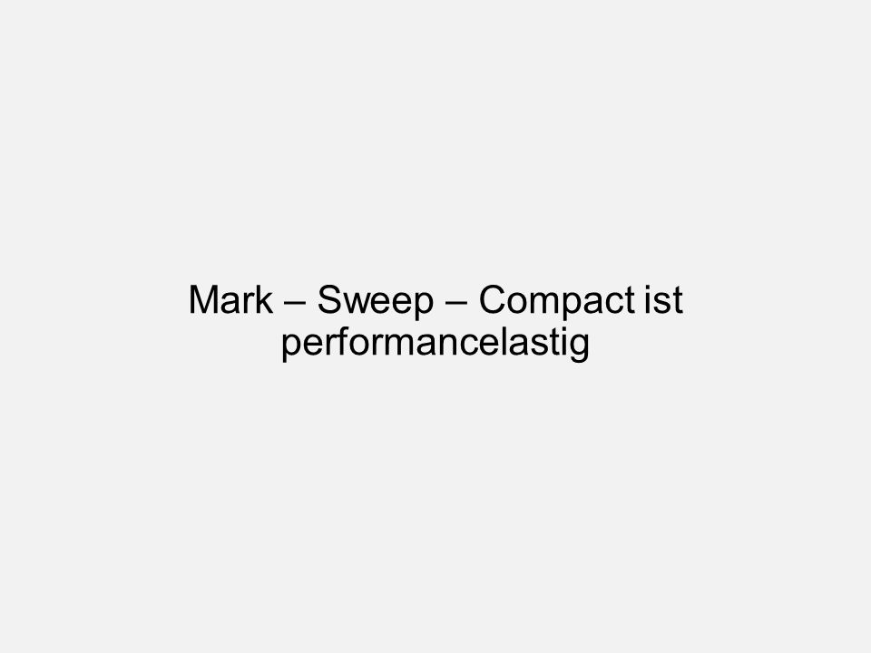 Mark – Sweep – Compact ist performancelastig