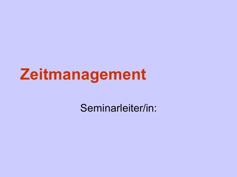 Definition Zeitmanagement ist eine Verfahrenstechnik zur Selbstorganisation aller Lebensbereiche mit dem Ziel, das vorhandene Zeitkapital optimal zu nutzen.