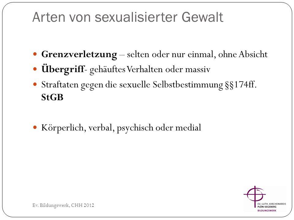 Zahlen… Ev.Bildungswerk, CHH 2012 Polizeiliche Kriminalstatistik: Jährlich ca.15.000 Fälle (d.h.
