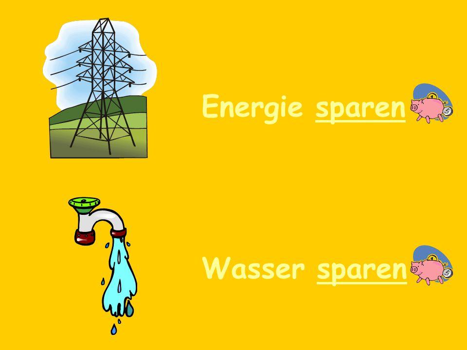 Um die Umwelt zu schützen, (in order to protect the environment) sollte man….