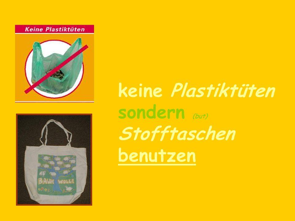 umweltfreundliche Produkte kaufen