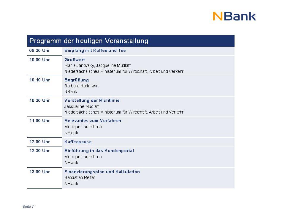 """Seite 8 ESF-Fördergebietskulisse in Niedersachsen Programm- gebiet """"Übergangs- region (ÜR) Programm- gebiet """"Stärker entwickelte Region (SER)"""