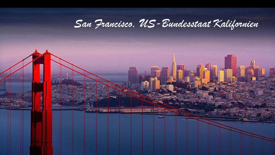 San Francisco, US-Bundesstaat Kalifornien