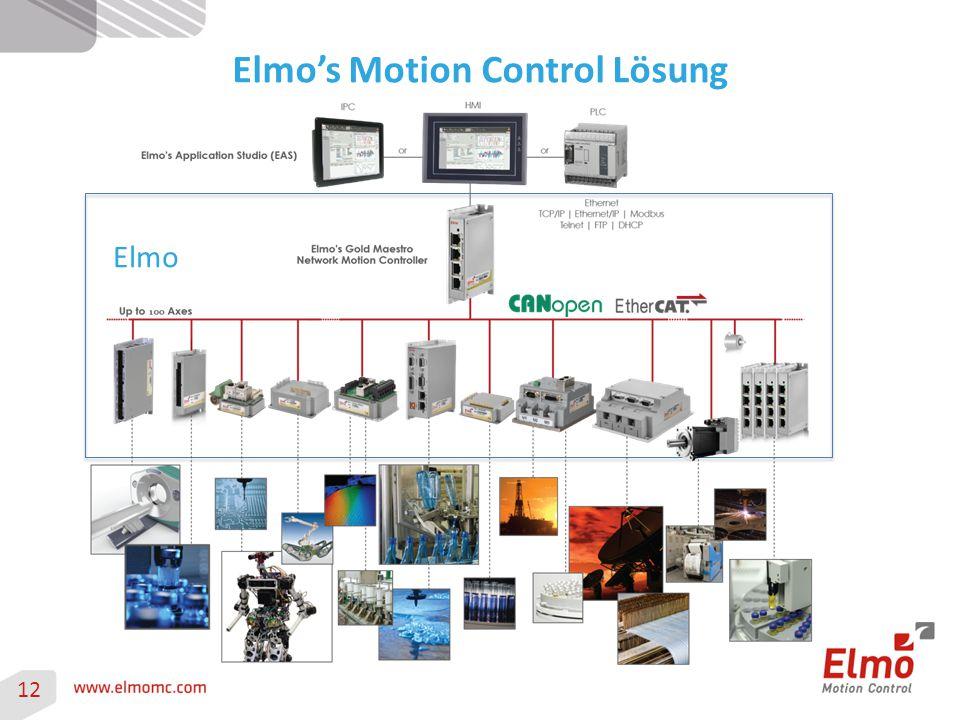 Elmo's Motion Control Lösung 12 Elmo