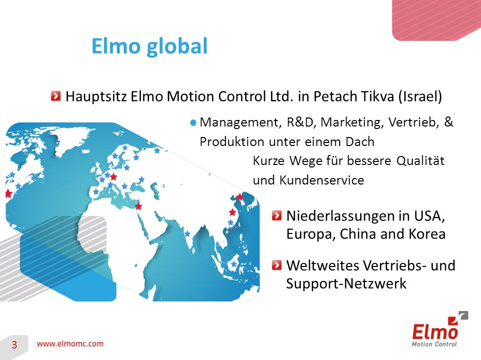 Hauptsitz Elmo Motion Control Ltd.